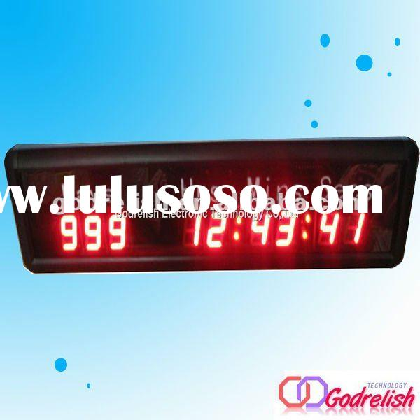 Indoor led countdown clock,led countdown timer