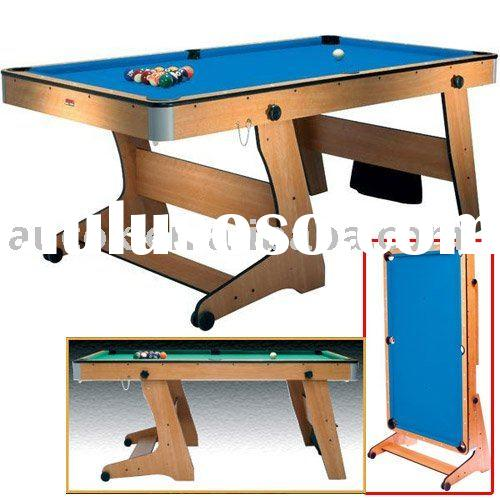 7ft folding pool table for sale price china manufacturer for Html vertical table