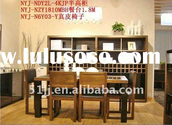 Japanese modern style dining room sets NYJ-BZ018