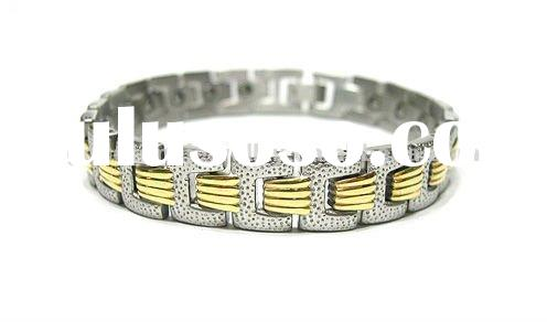 Jewelry stores crystal stainless steel metal jewelry bracelets,unusual disign for mens and ladies