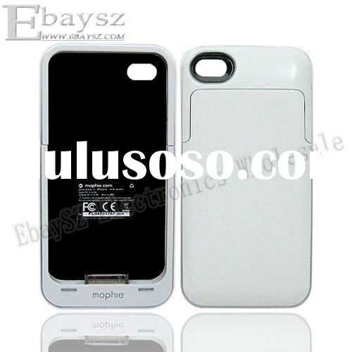 Juice Pack Air External Battery Case For Apple iPhone 4 4G White #DZ-215