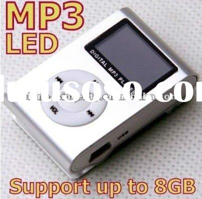 LCD screen Clip MP3 music player