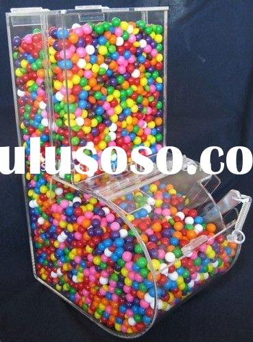 L-Shaped Acrylic Candy Box with Scoop