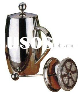 Large Capacity Double Wall Stainless Steel Coffee Percolator