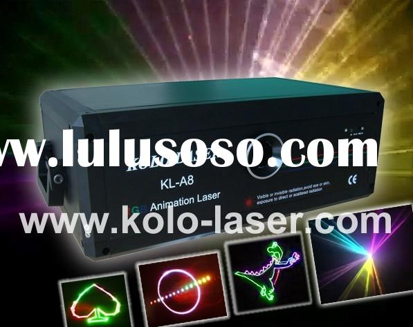 Laser show system, RGB laser, 500mW RGB multi color laser light with ILDA for DJ, disco, clubs