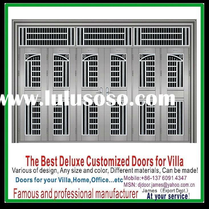Main Front Stainless Steel Gate door AD12