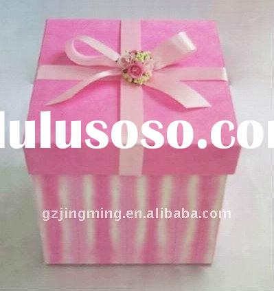 Manufacture! Fashion Design Paper Gift Packing Boxes