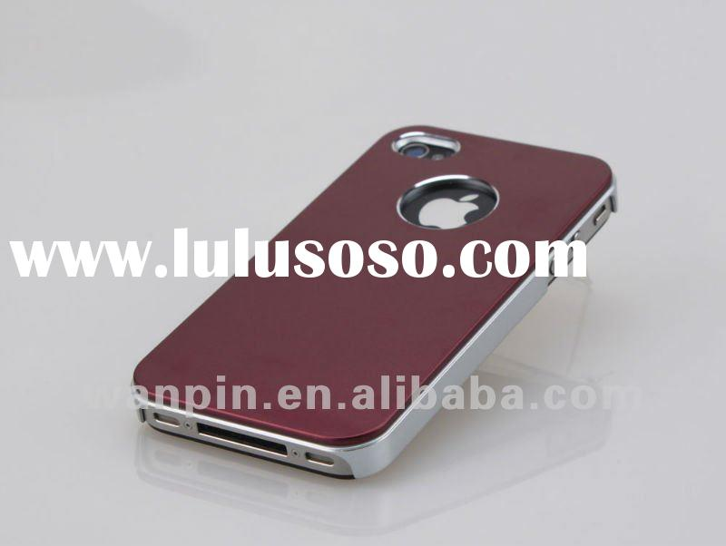 Metal mobile phone case for iphone4 case