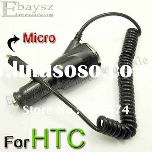 Micro USB Car Charger Mobile Charger for HTC Mobile Phone Black IP-439