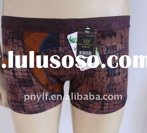 NEWLY AND FASHION STYLE high quality printing young mens underwear