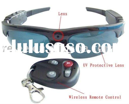 New Remote control Video Sunglasses Camera RLC-960