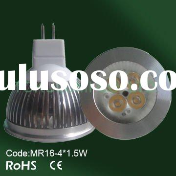 OWL 6W MR16 led spot light to replace 40W halogen