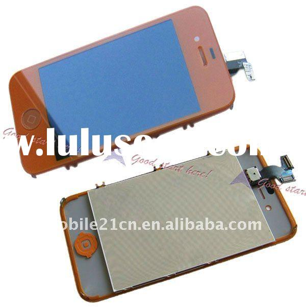Orange LCD with Touch Digitizer Aseembly For iPhone 4g CDMA Verizon replacement