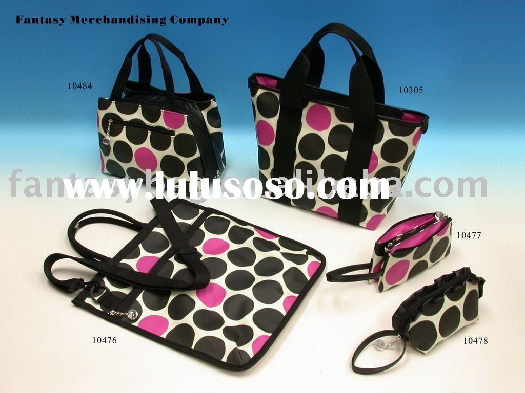 PVC Coated Canvas Cosmetic Bag Canvas Bag