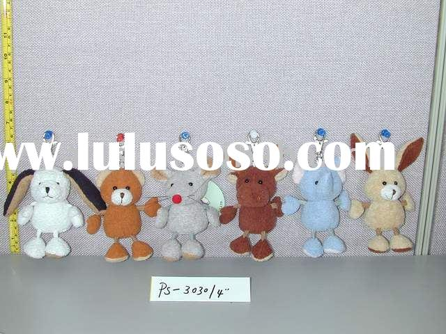 Plush animal key chain,stuffed toys,key chain toys