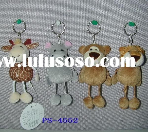 Plush animal keychain,stuffed toys,Plush toys,key chain toys