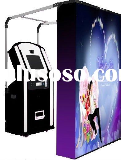 Portable LCD Touch Screen Photo Booth Kiosk Good For Wedding Party Event