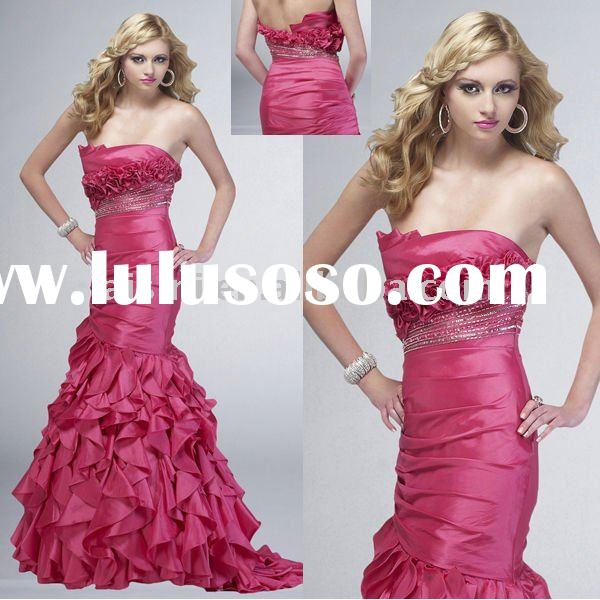 Prom Dress | Layered Mermaid Prom Dresses 2011