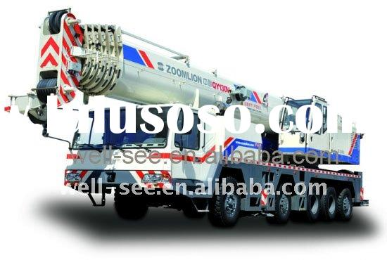 QY130V633 ZOOMLION Full Hydraulic Mobile Truck Crane / Construction Engineering Machinery / 130t 130