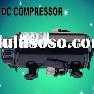 R134A DC compressor for truck tractor excavator Construction Machinery electric car Auto A/C units