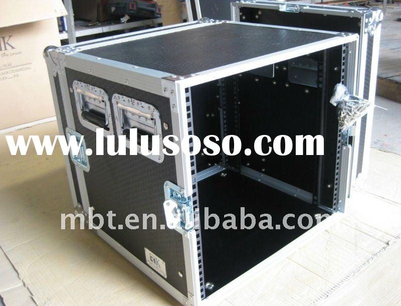 RK Non-slip 10U Amplifier Rack Cases