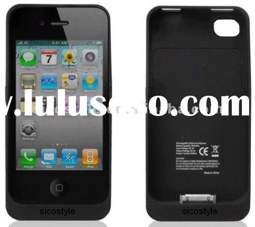 Rechargeable Battery Case 1500mAh for i-Phone 4/4S High Quality Low Price Juice Pack Air