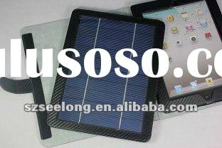 Removable Bluetooth Keyboard Leather Case With Solar Charger For iPad 2 Galaxy 10.1 Tab P7510 Motoro