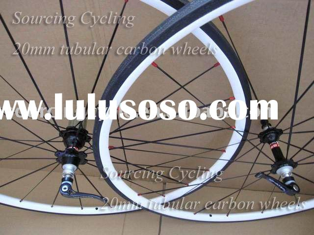 Road Bike Wheels 24mm Tubular with Novatec Hubs
