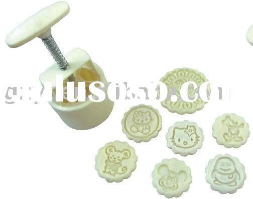 Round Moon Cake Mould/ Cookie Mold