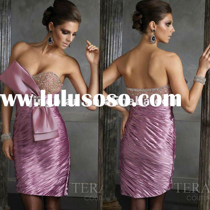 Short party dress by Terani couture SC1187