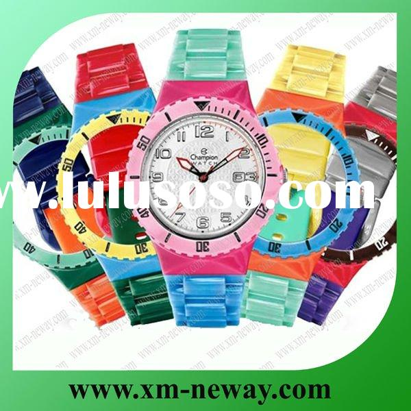 Silicone watch for 2012 London Olympic Games