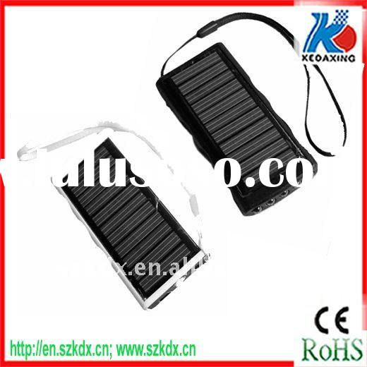 Solar power mobile charger with usb port 4 LED light fit for 3G iphone 4s KDX-T006