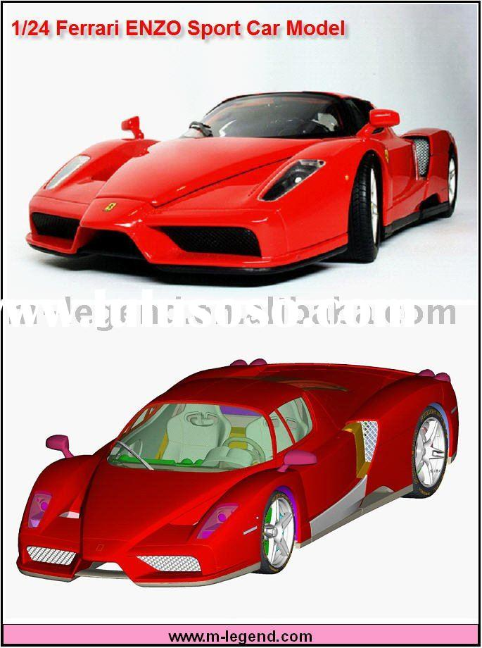 Sport car ENZO Model kit