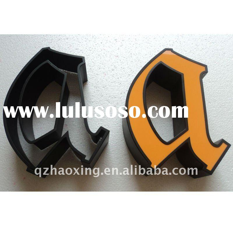 Stainless Steel Led Channel Letter Outdoor Sign