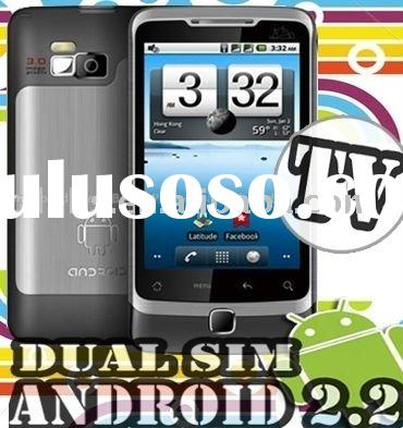 Star A5000 Android 2.2 Dual SIM Cards Mobile Phone 3.5 Inch Screen Smart Mobile Phone with WIFI TV G