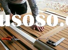 Synthetic Teak Decking cheap composite decking