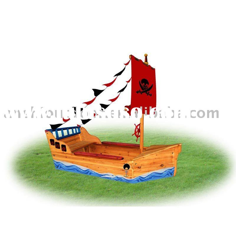 TSOP10041 PIRATE SHIP WOODEN SANDBOX OUTDOOR SANDBOXES GARDEN SANDBOX for sale - Price,China ...