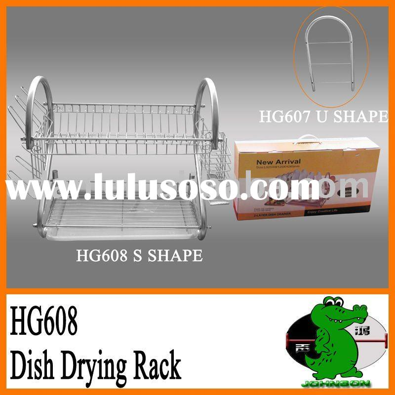 Two Layers Dish Rack