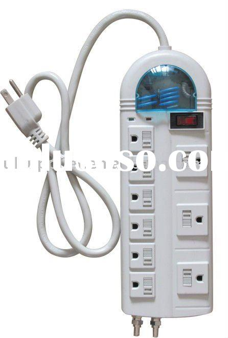 UL-Listed 9 outlet power strip electric power bar