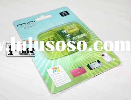 USB 2.0 High Speed All in One Memory card/TF card/SD card reader