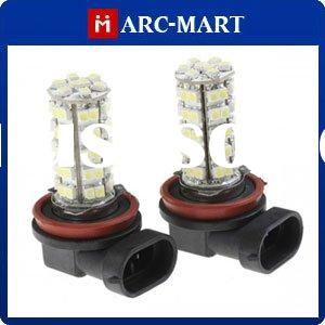 White 68 SMD LED Auto Fog Light Bulbs 12V H11 #JB061