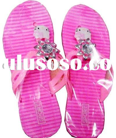 Wholesale Hello Kitty Slippers shoes For Kids F0161