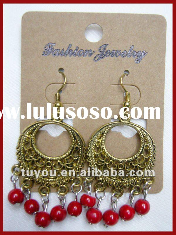 Wholesale Plain Fashion Drop Earrings for Women (TY-E12061)
