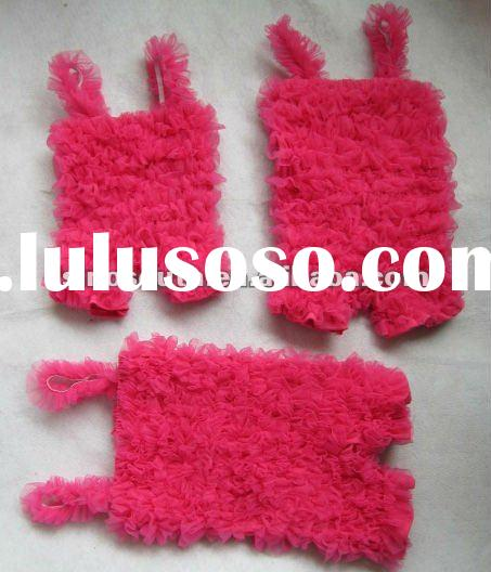 Wholesale lace petti rompers
