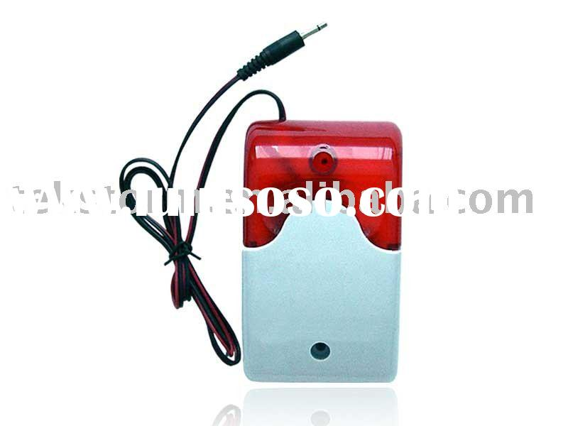 Wireless Flash Siren/Alarm Siren/Siren Strobe Light
