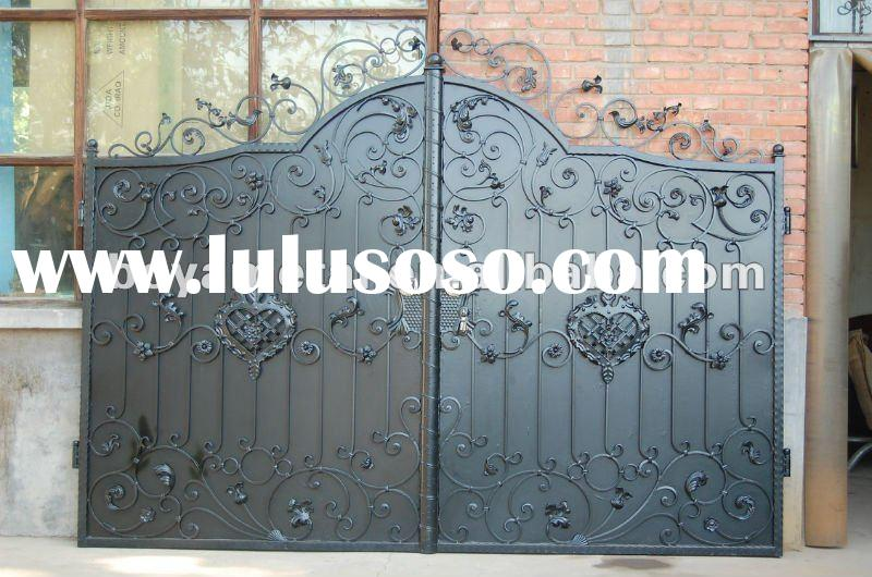 Wrought Iron Main Door Etn D051 For Sale Price China Manufacturer Supplier 1632287