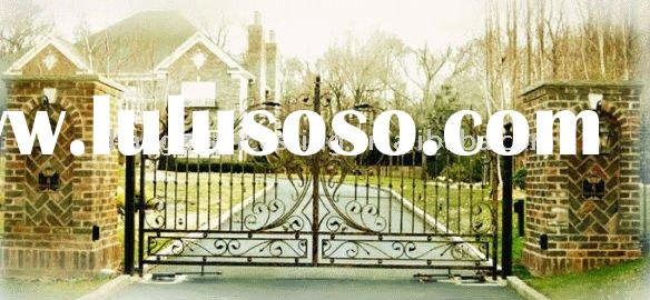 Wrought iron house gate designs