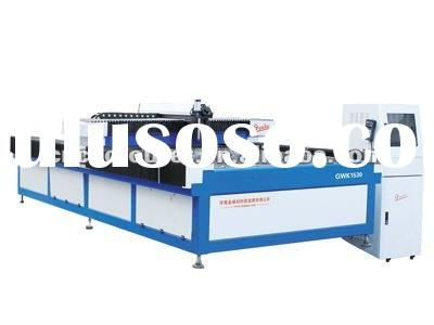 YAG-500-1530 CNC metal laser cutting machine 500W laser power with CE ISO