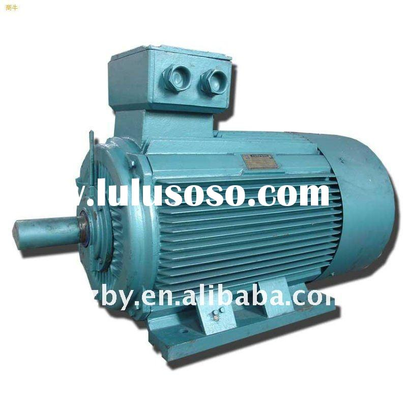 Y series electric induction high voltage 6kv electric motor 250KW 6KV