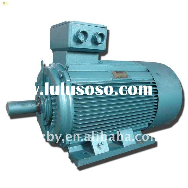 Y series electric induction high voltage motor 250KW 6KV